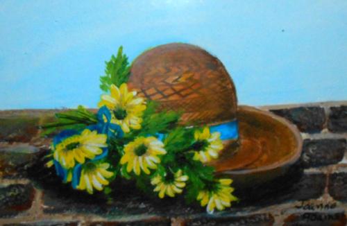 Daisy Garden Hat - P1012007